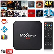 2017 Android 6.0 TV Box By Tech Forest, 64 Bit Quad Core Amlogic S905X Media Streaming Device, 1GB RAM/ 8GB ROM