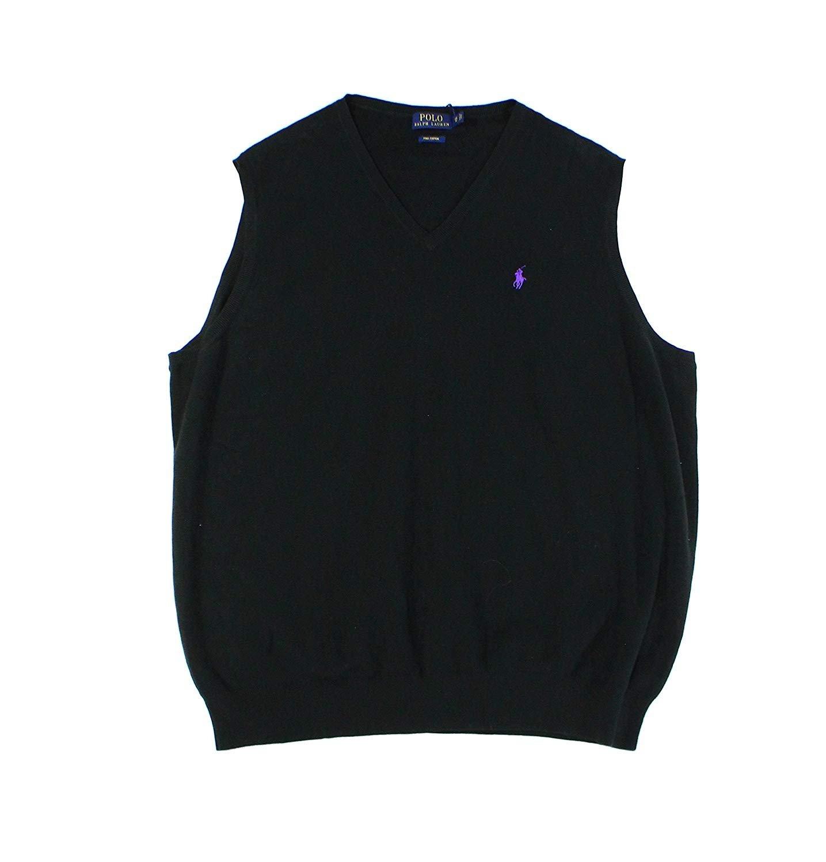 Polo Ralph Lauren Men's Big & Tall Pima Cotton Vest (4XB)