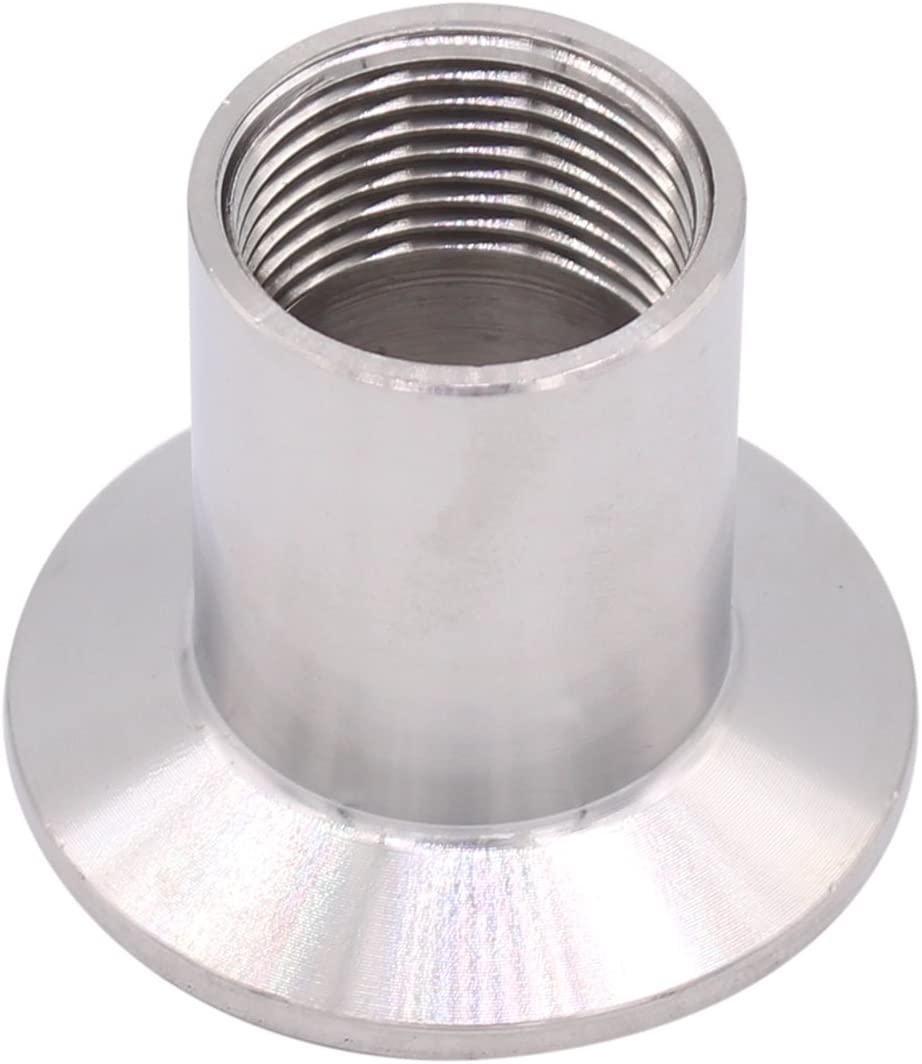 uxcell 1NPT Male Threaded Pipe Fitting to CLAMP OD 50.5mm Ferrule