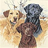 Dimensions Needlecrafts Counted Cross Stitch, Great Hunting Dogs
