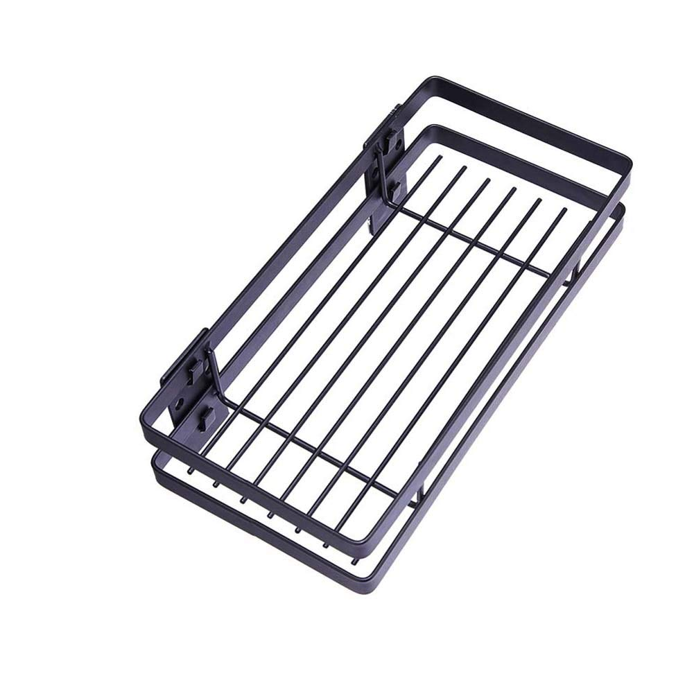 Wall-Mounted Spice Rack Kitchen Counter Storage Rack for Seasoning Cans, Etc,45cm