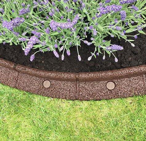 flexiborder® - Sistema de jardín flexible y resistente (6 x 1 ...