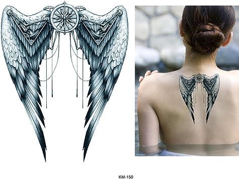 Alas Tattoo Fake Tattoo Arm Tattoo KM150: Amazon.es: Belleza