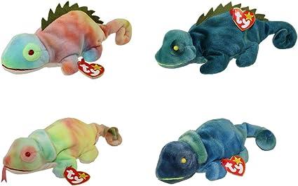 Iggy the Iguana Ty-Dye Beanie Baby