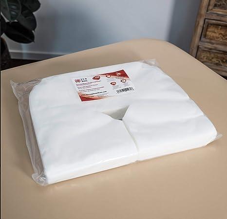 Qualité médicale hygiénique 50 pcs EARTHLITE Protège-têtière en papier jetable