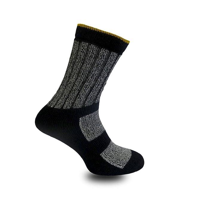 Para hombre Ultimate Kato Calcetines De Trabajo Botas Seguridad Calcetines de tamaño 6 - 11 - Cojín Suela Gris gris oscuro Medium: Amazon.es: Ropa y ...