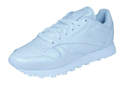 7ea0dfc9b4b Reebok Classic Leather Pearlized Trainers White  Amazon.co.uk  Shoes   Bags