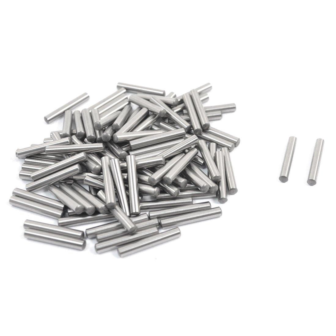 100 piezas 2,5 mm x 15,8 mm paralelo prod.no elementos cierre pasador plata