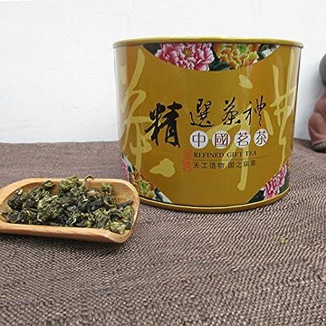 10 Bolsas/Paquete de regalo de la lata Tieguanyin Té China té verde orgánico natural Oolong Tea Gift Embalaje Latas de hierro Embalaje Oolong Tea: ...