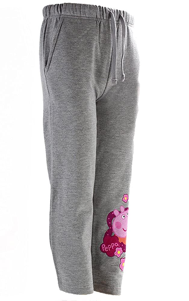 Girls Official Peppa Pig Daisy Jog Pants Tracksuit Lounge Bottoms Sizes From 3 To 8 Years