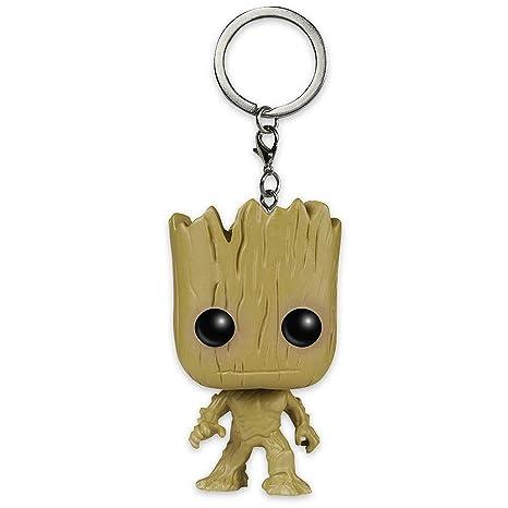 Funko Guardians of The Galaxy Pop! Llavero de Groot, Aprox ...