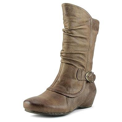 Shelby Women US 8 Black Mid Calf Boot