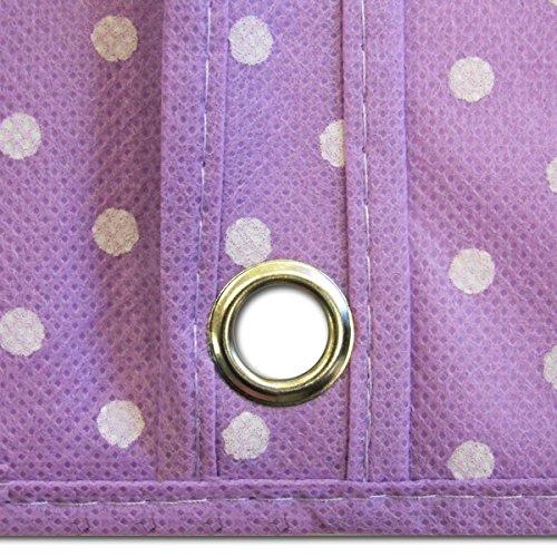 "Hangerworld Lilac Breathable 60"" Suit or Dress Garment Bag - Secret Internal Zipped Pocket"