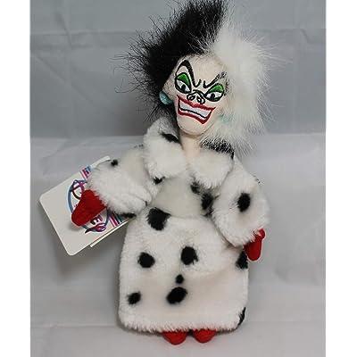 "Disney's 101 Dalmations Cruella 8"" Beanie Plush: Toys & Games"