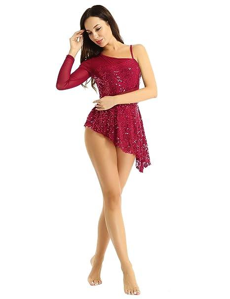 Alvivi Vestido de Danza Ballet Mujer Vestido Corto ...