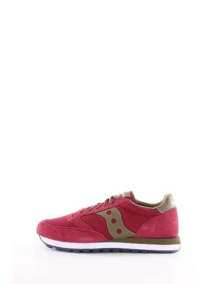 Original Uomo Bordeaux Basse Sneakers Verd 1 S70254 Saucony Jazz 45 4WwTgTq1