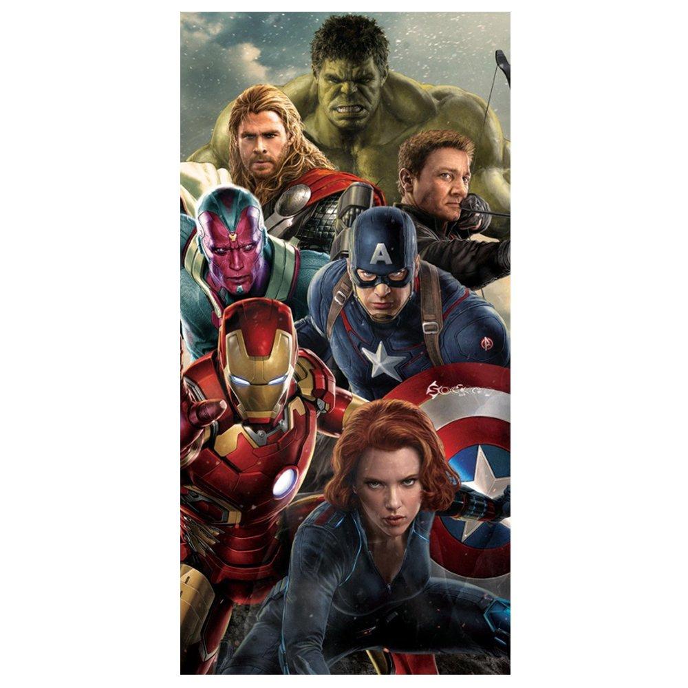 Avengers Age of Ultron Beach Bath Cotton Towel by Premier Life Store (Image #1)