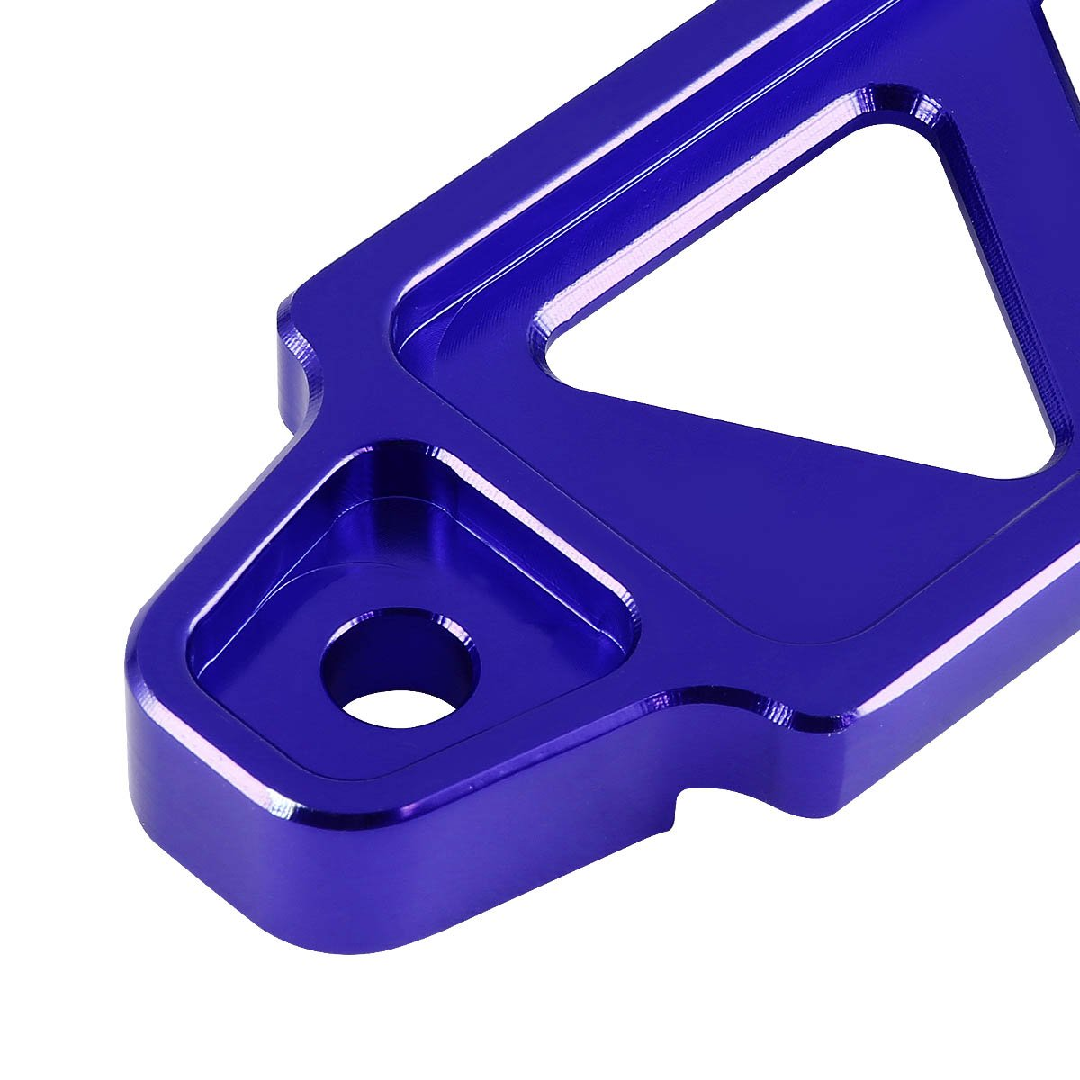 190mm//220mm Billet Aluminum Battery Tie Down Mount Bracket Purple