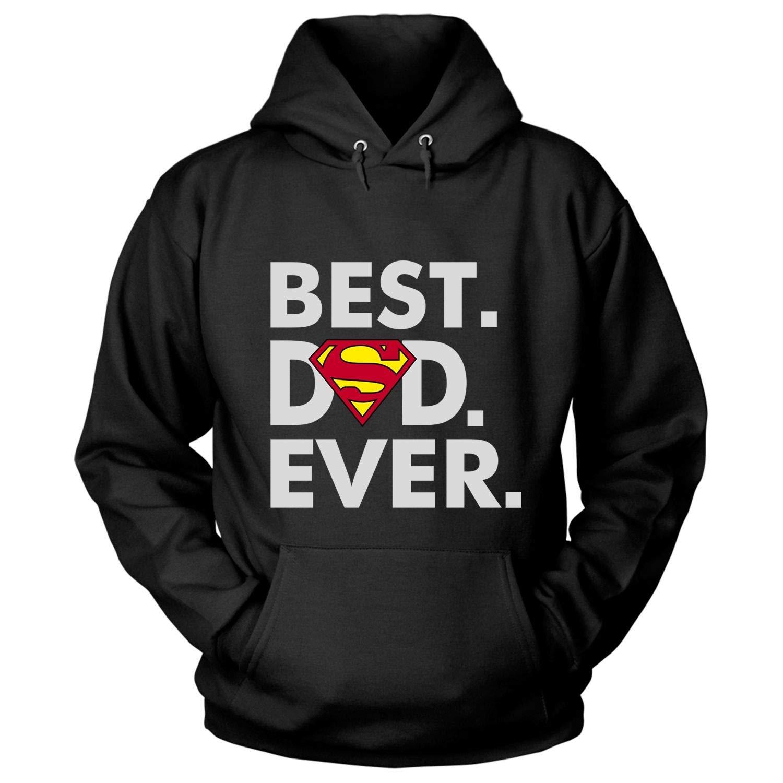 Best Dad Ever T Shirt Superman Logo T Shirt