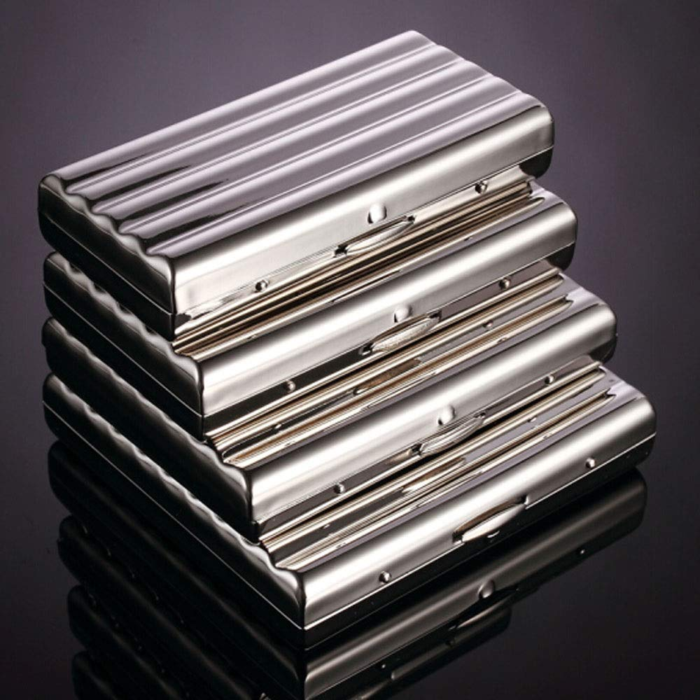 astuccio 10-20//16//20 stick personalizzato Color : 16 packs portasigarette in rame cromato Portasigarette
