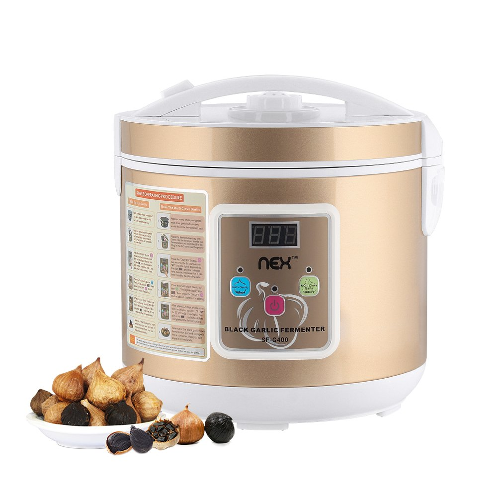 NEX Black Garlic Fermenter Black Garlic Ferment Box Garlic Maker Recycle Gold 5L