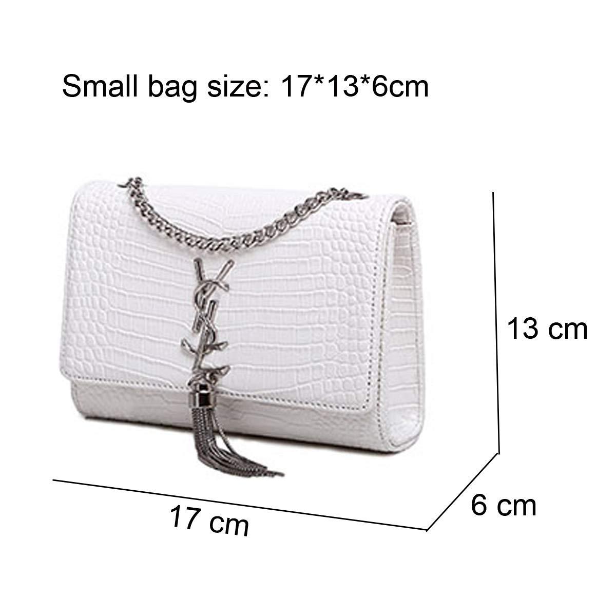 d027b656ef SHRJJ 2018 Fashion One Shoulder Crossbody Bags High Quality Leather  Shoulder Bag Large Capacity Room Baby Diaper Bag for Women (Small -17   13    6CM