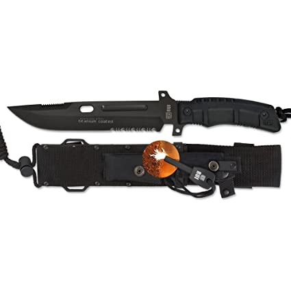 Amazon.com: K25 RUI31831 Tactical Fixed Blade Knife: Sports ...