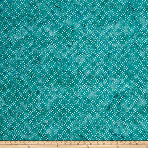 Teal Batik (Timeless Treasures Tonga Batik Surf Dot Party Teal Fabric By The Yard)