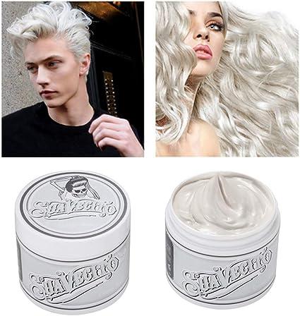 Meiyiu Color de cabello desechable multicolor Tinte de cera ...