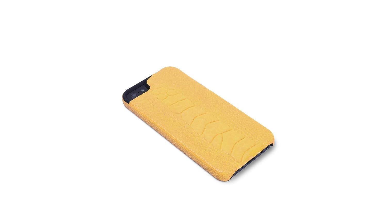 68a54ae17b92 Amazon | Vcoer 【iPhone5/5s対応モンスターシリーズ リアルアニマルレザーケース】 Monster-Ostrich ダークブラウン  6242 | ケース・カバー 通販