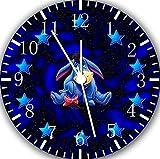 New Disney Eeyore Frameless Borderless Wall Clock W375 Nice For Gift or Room Wall Decor