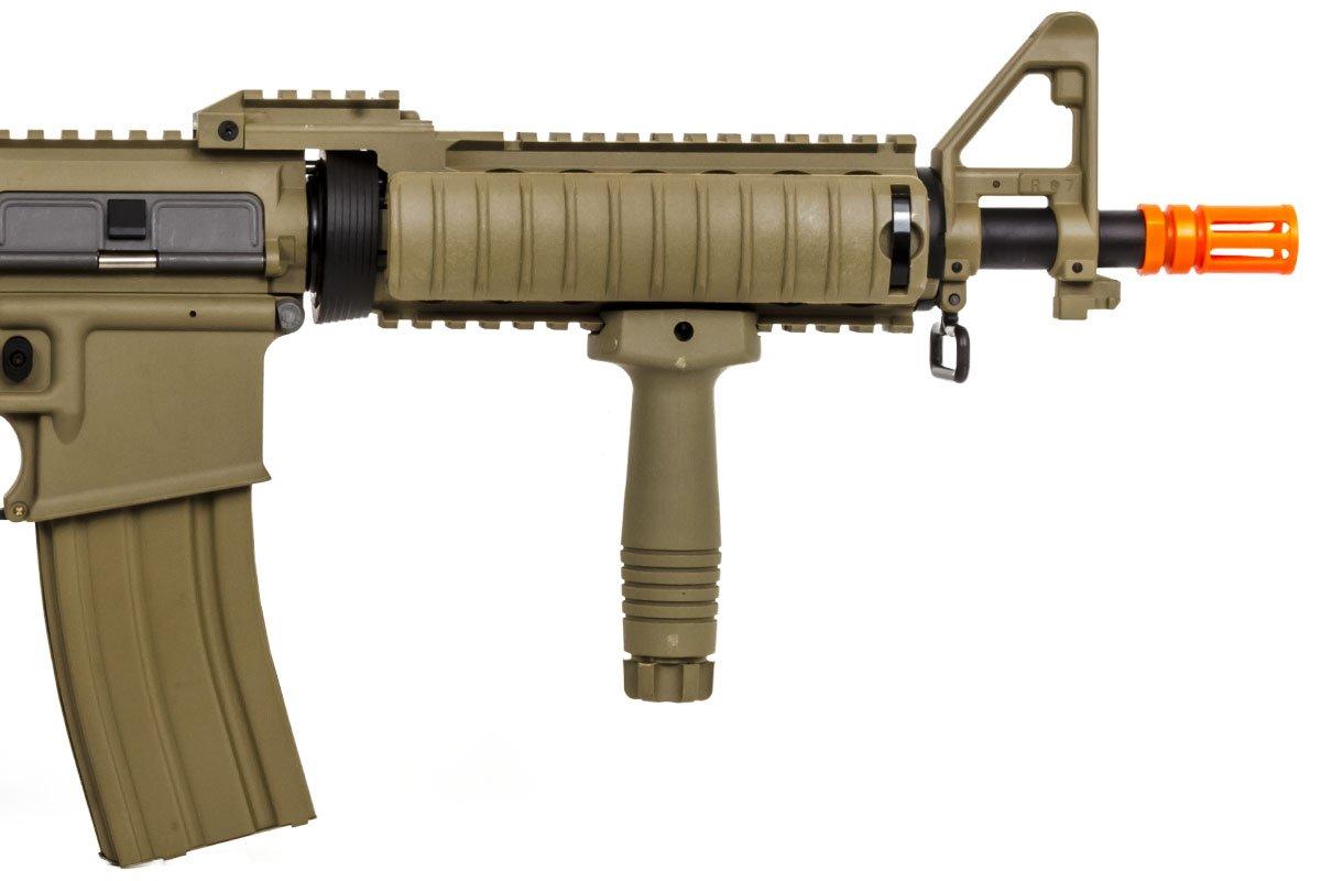 Tan Lancer Tactical LT-02CTL-G2 Gen 2 M4 Carbine AEG Airsoft Rifle