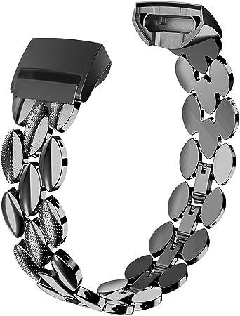 Amzpas Fitbit Charge 2 bandes Petit Grand Réglable De Remplacement Accessoire Bracelet