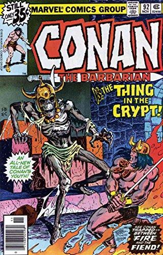 Conan the Barbarian #92 VF/NM ; Marvel comic book