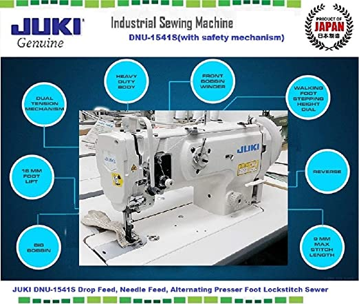 TABLE SEWING MACHINES FOR HARD JUKI DNU 1541 SERVO