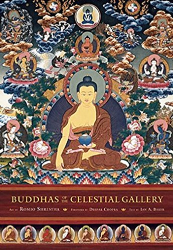 Buddhas of the Celestial Gallery Postcard Book: 24 Postcards