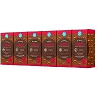 Marca Amazon - Happy Belly Nespresso Aluminium Cápsulas - Espresso - 120 Cápsulas (6 Paquetes x 20)