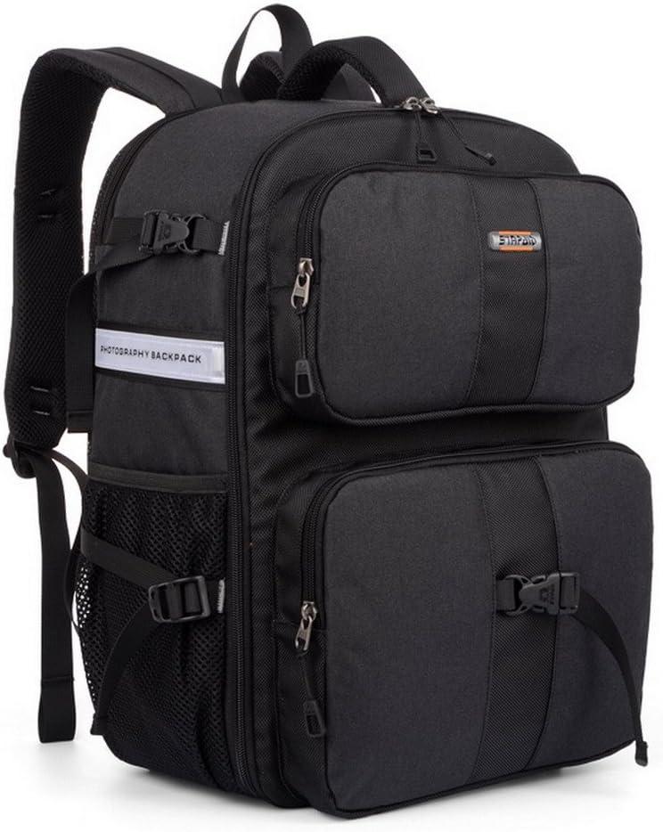 XSY Multifunctional DSLR SLR Camera Bag Large Waterproof Backpack Color Blue