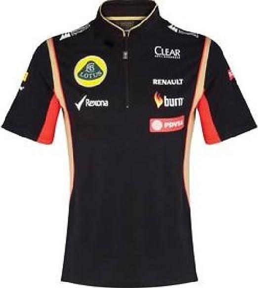 Lotus F1 equipo patrocinador 2014/5 señoras Tech Polo para hombre ...