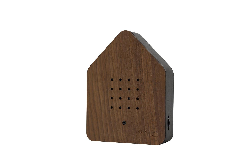 Zwitcherbox Zwitcherbox Zwitcherbox Holz zwitscherbox, Walnuss schwarz, 11 x 12 x 3 cm B07BDRXF1R Spieluhren 1f8e9e