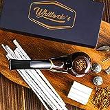 Whitluck's Tobacco Pipe, Handmade Wood Smoking