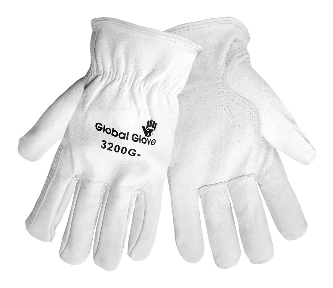 Global Glove 3200G-2XL Premium Goatskin Driver Keystone Thumb 2X-Large