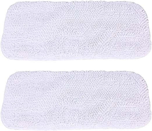 2 Pcs Microfiber Pad Replacements Compatible For Bissell 1867 Steam Mop US
