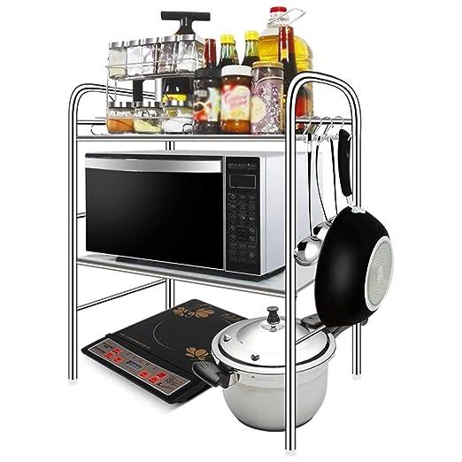 WYJW Cocina Microondas Estante Horno Rejilla Soporte de Piso ...