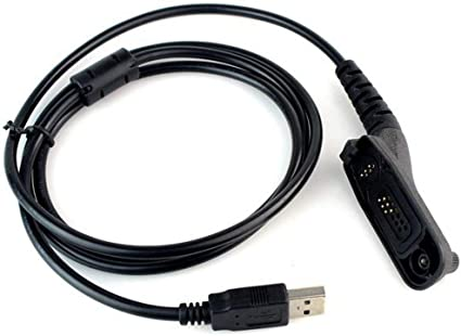 USB Programming Cable Cord CD for Motorola APX-6000 APX-6000 P25 APX-6000XE P25