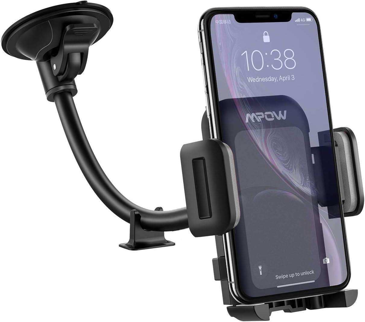 Mpow [Versión actualizada Porta móvil de Coche, Soporte Smartphone ...