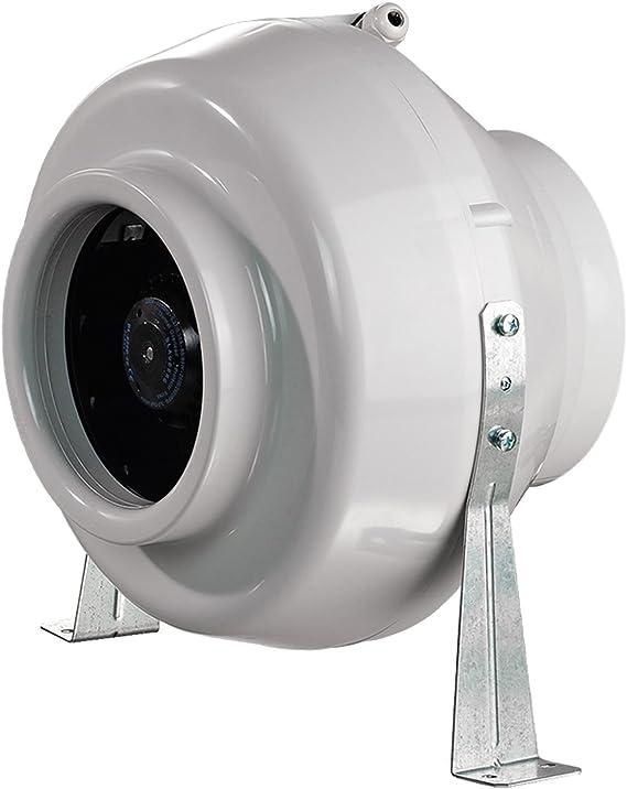 Ventilador centrífugo en línea, de la marca Blauberg UK, modelo centro-100, 100 mm, color gris: Amazon.es: Bricolaje y herramientas