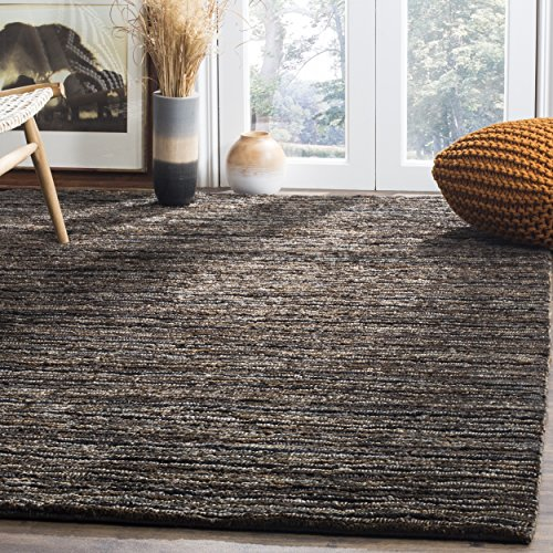 (Safavieh Organica Collection ORG215A Hand-Knotted Charcoal Wool Area Rug (5' x)