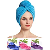 Bellbird Fab Hair Wrap Towel For Women Absorbent Microfiber (Pack of 2)