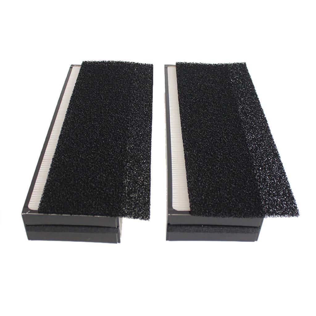 Sdoveb 2pcs Filter Element for Blueair Sense Series Particle Filter Accessories (Black)